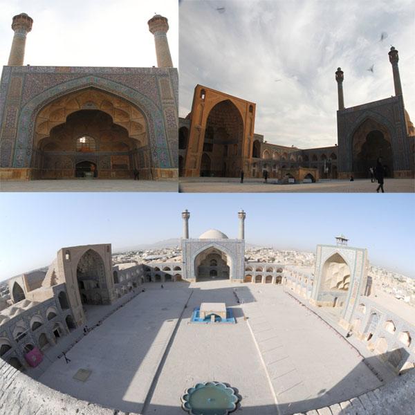گزارش مرمت مسجد جامع اصفهان / گروه ایزمئو