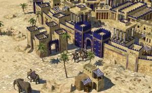 دیوارهای دفاعی بابل